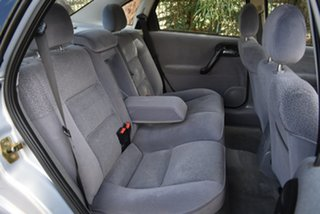 1999 Holden Vectra JS CD Grey 5 Speed Manual Sedan