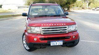 2008 Land Rover Range Rover Sport L320 08MY TDV8 Red 6 Speed Sports Automatic Wagon