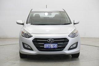 2016 Hyundai i30 GD4 Series II MY17 Active Platinum Silver Metallic 6 Speed Sports Automatic.