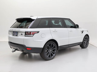 2015 Land Rover Range Rover LW MY15 Sport 3.0 TDV6 SE White 8 Speed Automatic Wagon