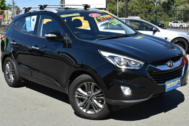Used Hyundai ix35 LM MY13 Elite (AWD) Underwood, 2013 Hyundai ix35 LM MY13 Elite (AWD) Black 6 Speed Automatic Wagon
