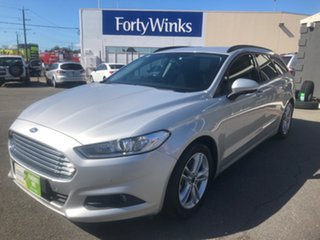 2017 Ford Mondeo MD Ambiente TDCi Silver 6 Speed Automatic Wagon