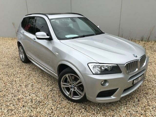 Used BMW X3 F25 xDrive30d Wangaratta, 2013 BMW X3 F25 xDrive30d 8 Speed Automatic Wagon