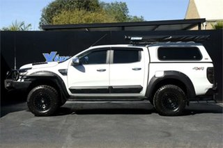 2012 Ford Ranger PX XLT Double Cab White 6 Speed Sports Automatic Utility
