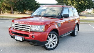 2008 Land Rover Range Rover Sport L320 08MY TDV8 Red 6 Speed Sports Automatic Wagon.