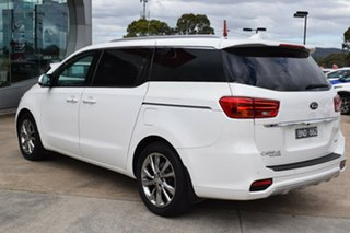 2020 Kia Carnival YP MY20 Platinum Clear White 8 Speed Sports Automatic Wagon