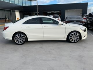 2017 Mercedes-Benz CLA-Class C117 807MY CLA200 DCT White 7 Speed Sports Automatic Dual Clutch Coupe.