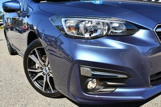 2017 Subaru Impreza G5 MY17 2.0i-L CVT AWD Quartz Blue 7 Speed Constant Variable Hatchback.