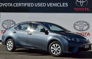 2015 Toyota Corolla ZRE172R Ascent Moonlight 7 Speed CVT Auto Sequential Sedan.