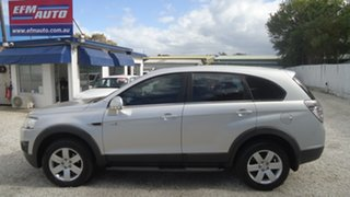 2011 Holden Captiva CG Series II 7 SX Silver 6 Speed Sports Automatic Wagon.