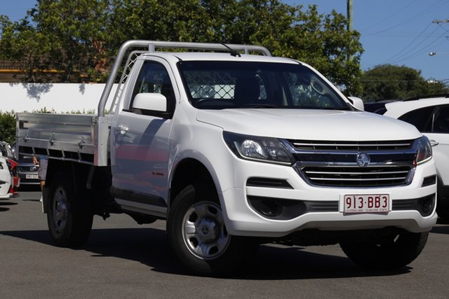 Used Holden Colorado RG MY17 LS 4x2 Mount Gravatt, 2017 Holden Colorado RG MY17 LS 4x2 White 6 Speed Manual Cab Chassis