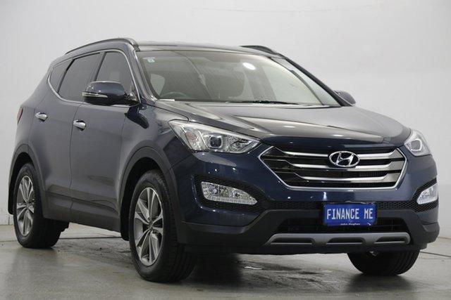 Used Hyundai Santa Fe DM2 MY15 Elite Victoria Park, 2015 Hyundai Santa Fe DM2 MY15 Elite Grey 6 Speed Sports Automatic Wagon