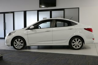 2017 Hyundai Accent RB5 Sport White 6 Speed Automatic Sedan