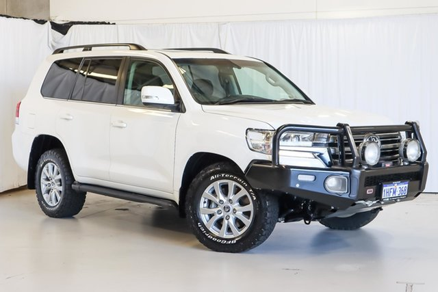 Used Toyota Landcruiser VDJ200R VX Wangara, 2017 Toyota Landcruiser VDJ200R VX White 6 Speed Sports Automatic Wagon