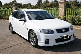 2012 Holden Commodore VE II MY12.5 SV6 White 6 Speed Automatic Sportswagon.