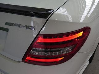 2013 Mercedes-Benz C-Class C204 MY13 C63 AMG SPEEDSHIFT MCT Edition 507 White 7 Speed