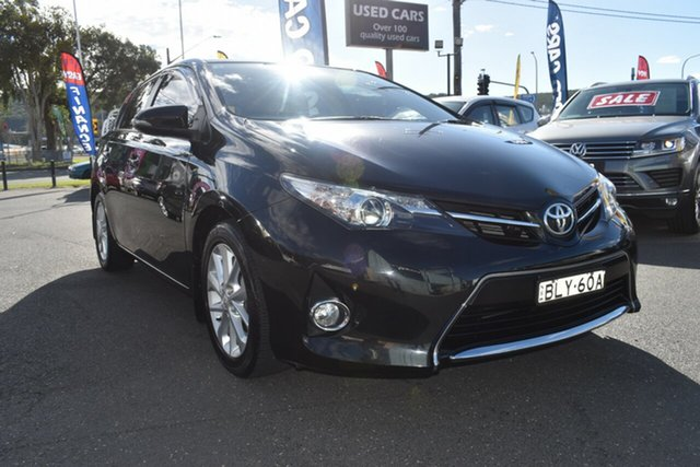 Used Toyota Corolla ZRE182R Ascent Sport S-CVT Gosford, 2014 Toyota Corolla ZRE182R Ascent Sport S-CVT Black 7 Speed Constant Variable Hatchback