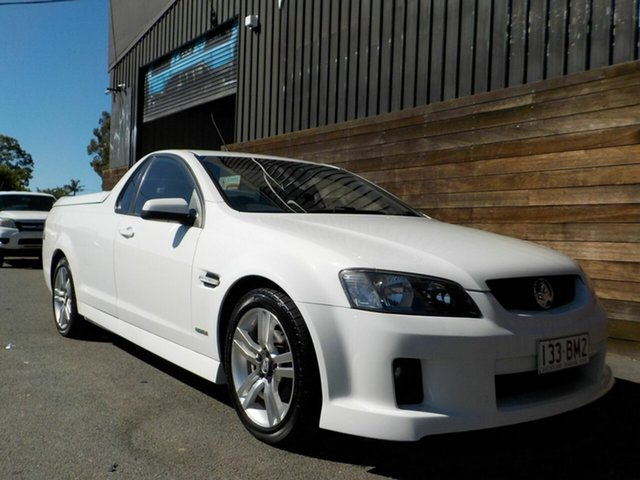 Used Holden Ute VE MY10 SV6 Labrador, 2009 Holden Ute VE MY10 SV6 White 6 Speed Sports Automatic Utility