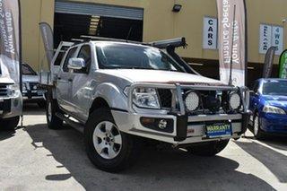 2009 Nissan Navara D40 ST-X (4x4) Silver 6 Speed Manual Dual Cab Pick-up