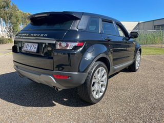 2013 Land Rover Range Rover Evoque LV MY13 TD4 Pure Black 6 Speed Automatic Wagon.