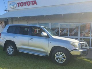 2010 Toyota Landcruiser VDJ200R 09 Upgrade GXL (4x4) 6 Speed Automatic Wagon.
