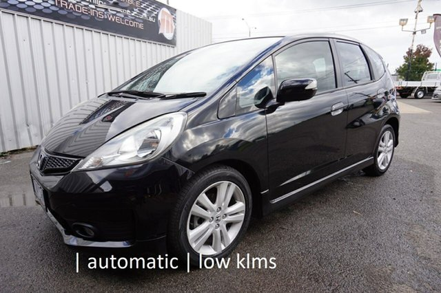 Used Honda Jazz GE MY12 Vibe-S Dandenong, 2012 Honda Jazz GE MY12 Vibe-S Crystal Black 5 Speed Automatic Hatchback