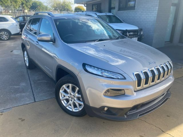 Used Jeep Cherokee KL MY15 Longitude Hillcrest, 2014 Jeep Cherokee KL MY15 Longitude Silver 9 Speed Sports Automatic Wagon