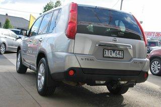 2010 Nissan X-Trail T31 MY10 TS (4x4) Silver 6 Speed Automatic Wagon