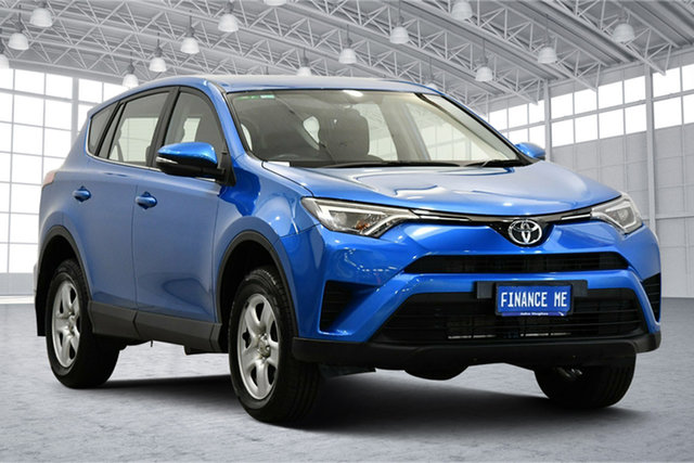 Used Toyota RAV4 ASA44R GX AWD Victoria Park, 2017 Toyota RAV4 ASA44R GX AWD Blue Gem 6 Speed Sports Automatic Wagon