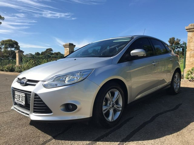 Used Ford Focus LW MkII MY14 Trend PwrShift Enfield, 2014 Ford Focus LW MkII MY14 Trend PwrShift Silver 6 Speed Sports Automatic Dual Clutch Hatchback
