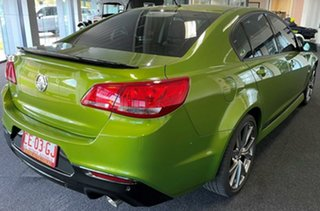 2015 Holden Commodore VF MY15 SV6 Lightning Green 6 Speed Sports Automatic Sedan.