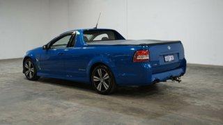 2014 Holden Ute VF MY14 SV6 Ute Storm Blue 6 Speed Manual Utility.