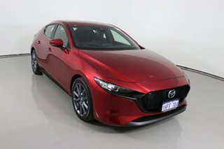2020 Mazda 3 BP G20 Evolve Red 6 Speed Automatic Hatchback