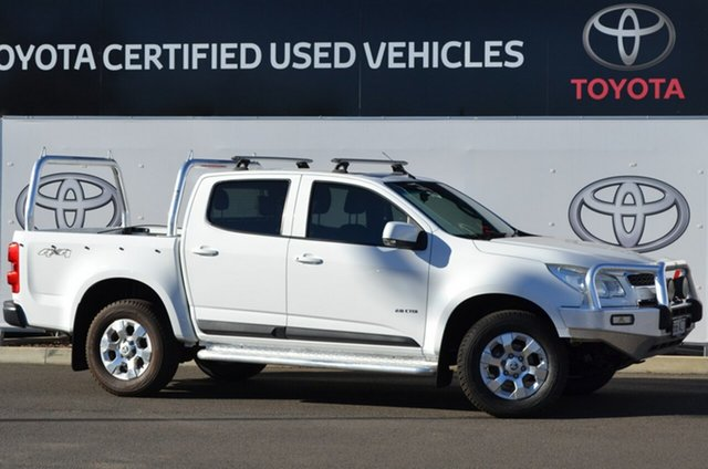 Pre-Owned Holden Colorado RG LX (4x4) Warwick, 2013 Holden Colorado RG LX (4x4) White 5 Speed Manual Crew Cab Pickup