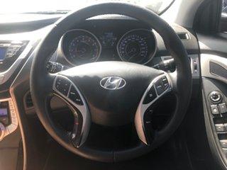 2012 Hyundai Elantra MD Elite Black 6 Speed Automatic Sedan