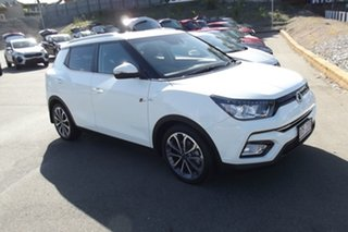 2019 Ssangyong Tivoli X100 Ultimate AWD White 6 Speed Sports Automatic Wagon.