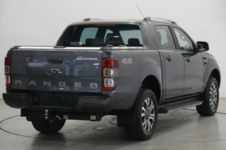 2017 Ford Ranger PX MkII 2018.00MY Wildtrak Double Cab Meteor Grey 6 Speed Sports Automatic Utility