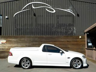 2009 Holden Ute VE MY10 SV6 White 6 Speed Sports Automatic Utility.
