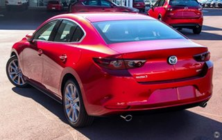 2020 Mazda 3 BP2S7A G20 SKYACTIV-Drive Touring Red 6 Speed Sports Automatic Sedan