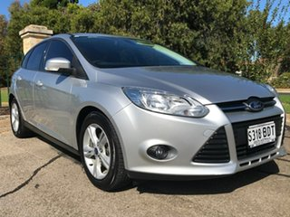 2014 Ford Focus LW MkII MY14 Trend PwrShift Silver 6 Speed Sports Automatic Dual Clutch Hatchback.