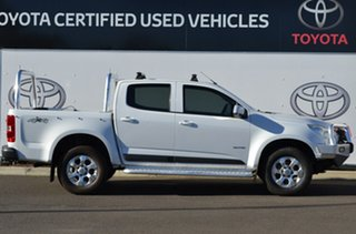 2013 Holden Colorado RG LX (4x4) White 5 Speed Manual Crew Cab Pickup