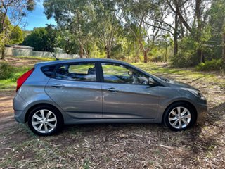 2018 Hyundai Accent RB6 MY19 Sport Lake Silver 6 Speed Sports Automatic Hatchback.