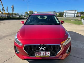 2018 Hyundai i30 PD MY18 Active Red/310518 6 Speed Sports Automatic Hatchback