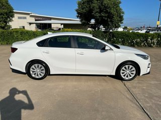 2019 Kia Cerato BD MY20 S White/010220 6 Speed Sports Automatic Sedan