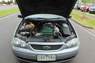 2003 Ford Falcon BA XLS Ute Super Cab Grey 4 Speed Sports Automatic Utility