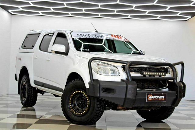 Used Holden Colorado RG MY16 LS (4x4) Burleigh Heads, 2016 Holden Colorado RG MY16 LS (4x4) White 6 Speed Automatic Crew Cab Pickup