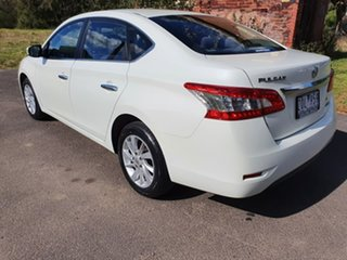 2013 Nissan Pulsar B17 ST White Constant Variable Sedan