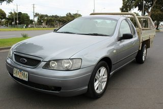 2003 Ford Falcon BA XLS Ute Super Cab Grey 4 Speed Sports Automatic Utility.