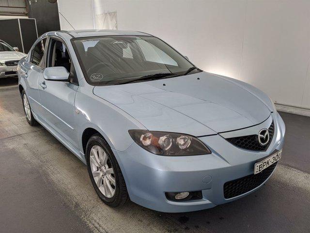 Used Mazda 3 BK10F2 Maxx Maryville, 2007 Mazda 3 BK10F2 Maxx Blue 4 Speed Sports Automatic Sedan