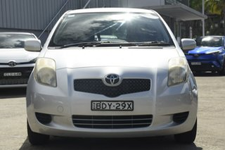 2007 Toyota Yaris NCP90R YR Quicksilver 4 Speed Automatic Hatchback